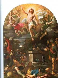 La résurrection du Christ, 1593