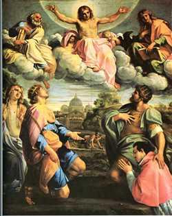 Le Christ en gloire, 1597-1598