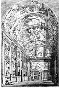 Fresques du palais Farnèse, 1597-1602