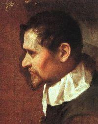 Autoportrait de profil, 1590