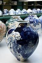 Magasin Blanc, les vases Manufacture nationale de Sèvres 29 mai 2006 -11 décembre 2008
