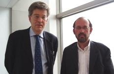 Damien Le Guay et Yves Krumenacker (de gauche à droite)