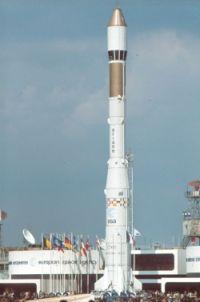 Fusée  Ariane 1 Europe Premier lancement: 24 décembre 1979, Kourou