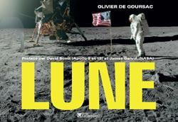 """Images de la Lune créés avec la NASA et tirées du livre """"LUNE"""""""