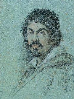 Le Caravage peint par Ottavio Leoni, vers 1621