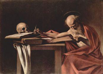 Saint Jérôme, Michelangelo Merisi da Caravaggio, 1605-1606