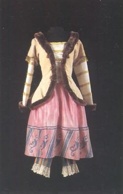 Costume pour la Ballerine, 1920, Petrouchka