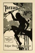 Couverture du premier roman d'Edgar Rice Burroughs
