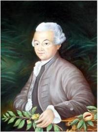 Portrait de Pierre Poivre par Déborah Roubane