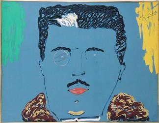 Portrait de Serge Diaghilev, 1972, Serge Lifar