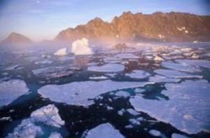 Débacle de la banquise arctique