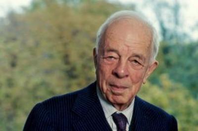 Jean Bernard  (1907-2006), membre de l'Académie française, de l'Académie des sciences et de l'Académie nationale de médecine