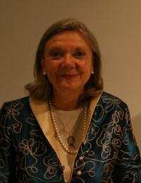 Lydia Harambourg, commissaire de la biennale de sculpture de Yerres, correspondante de l'Académie de beaux-arts, septembre 2009