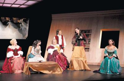 Les femmes savantes, Théâtre XIV