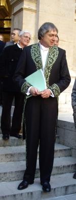 Erik Desmazières de l'Académie des beaux-arts, 14 octobre 2009