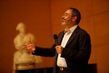 Yves Jeanneret à l'ENPC lors de la conférence inaugurale de 2009