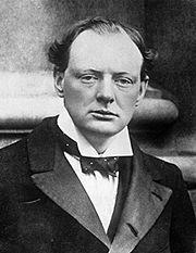 Churchill en 1904