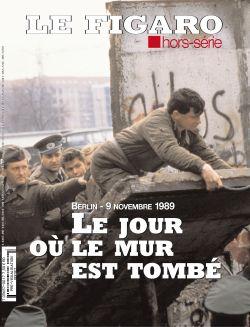 Couverture du Figaro hors-série sur la chute du mur de Berlin