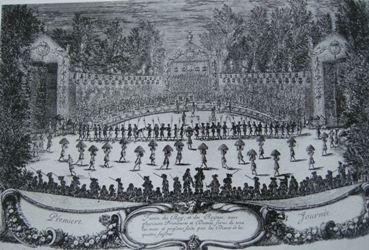 Les plaisirs de l'Ile enchantée, première journée, 5 mai 1664