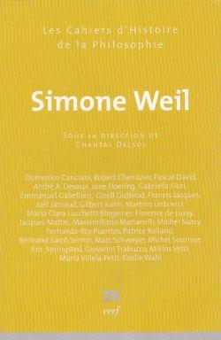 Le Cahier d'Histoire de la philosophie consacré à Simone Weil, dirigé par Chantal Delsol
