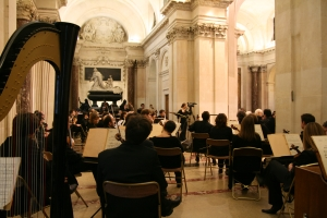 Séance publique annuelle de l'Académie des beaux-arts, Coupole de l'Institut de France, 18 novembre 2009