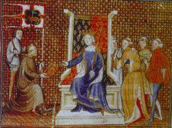Philippe de Mézières et Richard II