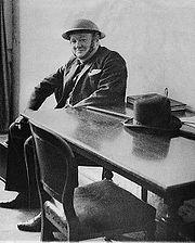 Winston Churchill en 1940