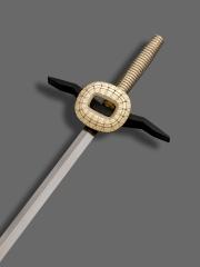 L'épée d'académicien d'Aymeric Zublena