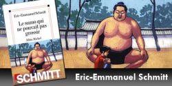 Couverture du livre d'Eric-Emmanuel Schmitt, Le sumo qui ne pouvait pas grossir