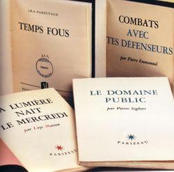 Ouvrages des éditions de Minuit sous la maison d'éditions Parizeau