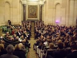 Remises des prix internationaux Onassis 2009 pour le droit et les belles-lettres 2009, Coupole de l'Institut de France
