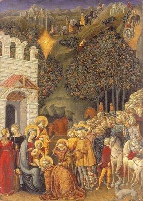 Michele di Michele Ciampanti, L'adoration des mages 1470