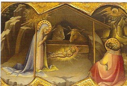 Lorenzo Monaco, La Nativité vers1405-1410?
