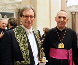 Jean-Luc Marion et Monseigneur Claude Dagens
