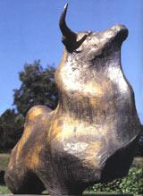 Sculpture de Jean Cardot, de l'Académie des beaux-arts