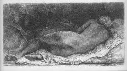 Rembrandt, La Négresse couchée, 1658