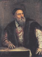 'Autoportrait' du Titien, vers 1562, huile sur toile, Staatliche Museen, Berlin