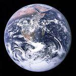 Photographie de la Terre prise depuis Apollo