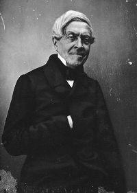 Jules Michelet, photographié par Félix Nadar