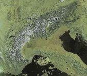 La chaîne des Alpes