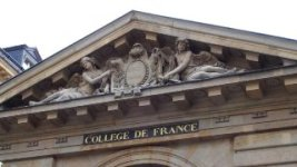Fronton du Collège de France