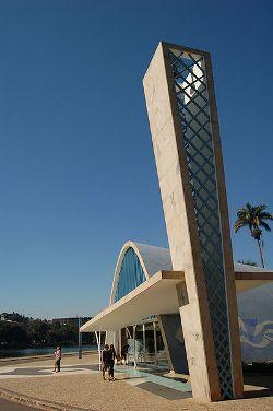 Oscar Niemeyer, église Saint-Francis de Belo Horizonte