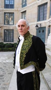 Installation de Pierre-Edouard au sein de l'Académie des beaux-arts, Institut de France, 10 mars 2010