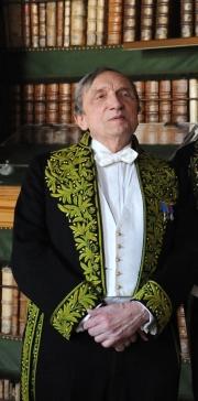Gérard Lanvin, membre de l'Académie des beaux-arts, mars 2010, Bibliothèque de l'Institut de France