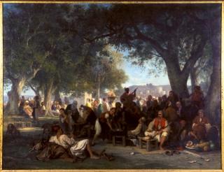 Charles Labbé (1821-1885), Le Kief, repos du vendredi
