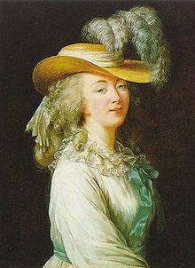 Mmedu Barry par Elisabeth Vigée Le Brun (1781)