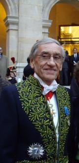 Yves Pouliquen de l'Académie française, le 12 novembre 2009, Institut de France