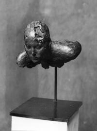 Sculpture de Pierre-Edouard, Torse avec épaules III. 2000, 45 x 31 x 35 cm, Bronze