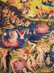 """Jerôme Bosch, """"Le Jardin des délices """" Triptyque - Panneau Central, vers 1504"""