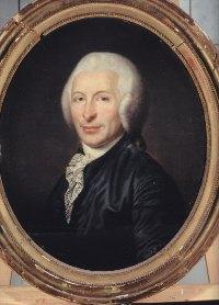Joseph-Ignace Guillotin (1738-1814), portrait de Moreau le jeune